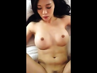 Asian with big tits possessions fucked